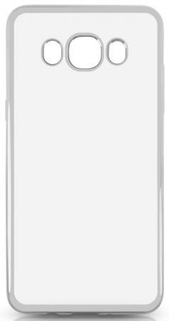 Чехол силиконовый DF sCase-29 с рамкой для Samsung Galaxy J5 2016 серый силиконовый чехол с рамкой для samsung galaxy s6 df scase 31 space gray