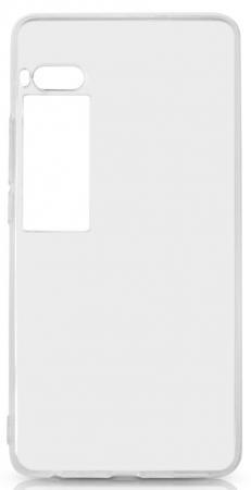 Чехол силиконовый DF mzCase-20 для Meizu Pro 7 plus meizu pro 7 vpervye pokazalsia na foto