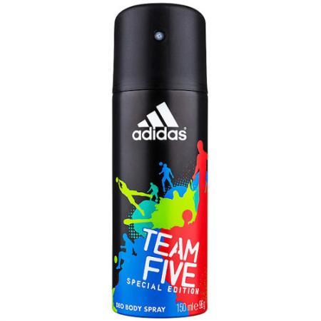 Дезодорант ADIDAS Team Five 150 мл 31999163000 дезодорант спрей мужской adidas team five