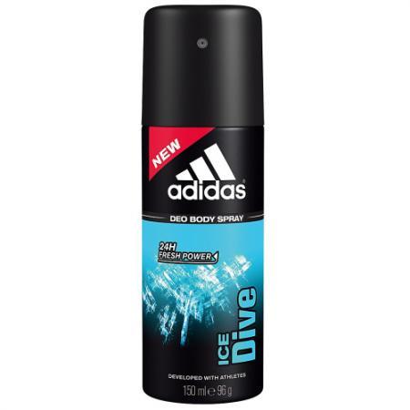 Дезодорант ADIDAS Ice Dive 150 мл 31999165000 adidas pure game дезодорант 150 мл
