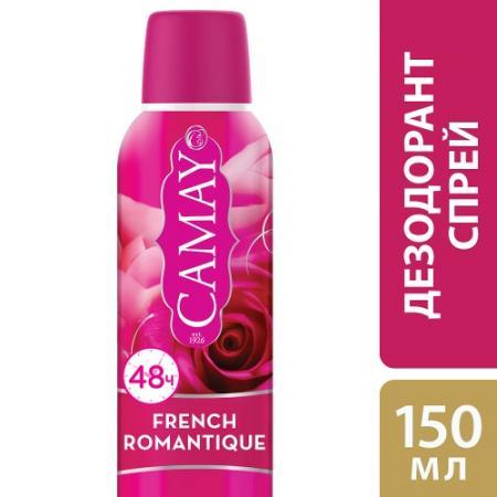 Дезодорант-антиперспирант CAMAY French Romantique 150 мл цветочный 67173776