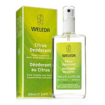 Дезодорант WELEDA 7516/9707 100 мл цитрусовый weleda цитрусовый дезодорант weleda citrus deodorant 9706 30 мл