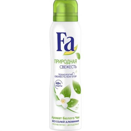 Дезодорант Fa Природная свежесть 150 мл косметика для мамы fa дезодорант аэрозоль природная свежесть белый чай 150 мл