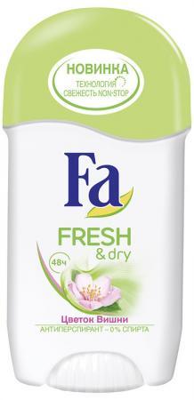 Дезодорант-антиперспирант Fa Fresh&Dry 50 мл вишневый 1928613 дезодорант антиперспирант fa розовый рай и чувственная роза 50 мл цветочный