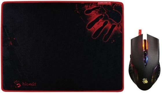 Мышь проводная A4TECH Bloody Q5081S чёрный USB цена