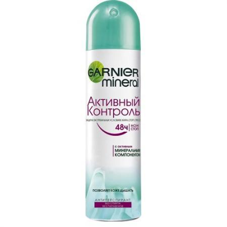 Дезодорант-антиперспирант Garnier Активный контроль 150 мл C3865315 антиперспирант maxim dabomatic 30% дезодорант максим