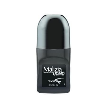 Дезодорант Malizia Silver 50 мл 175101 дезодорант спрей парфюмированный vetyver malizia 150 мл