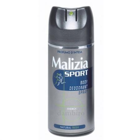 Дезодорант Malizia Sport Energy 150 мл 128611 дезодорант ролл 48 часов для женщин lavilin 65 мл hlavin