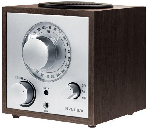 Радиоприемник Hyundai H-SRS100 венге радиоприемник hyundai h srs100 венге