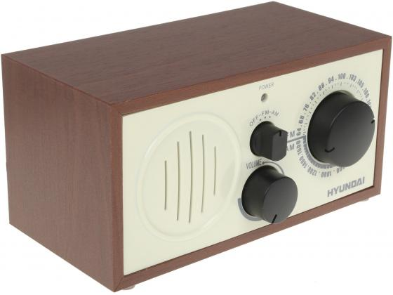 лучшая цена Радиоприемник Hyundai H-SRS120 вишня