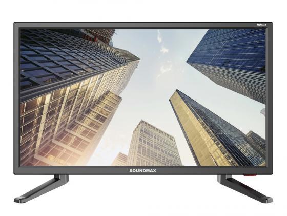 Телевизор LCD 19 SM-LED19M01 SOUNDMAX led телевизор sharp lcd 60ue20a 60 4k 3d