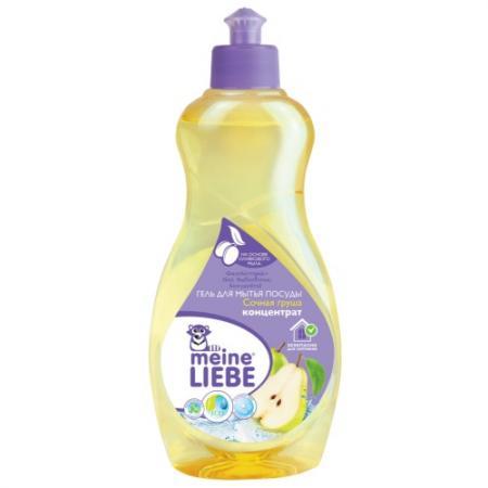 MEINE LIEBE Гель для мытья посуды Сочная груша концентрат 500мл гель для стирки цветных тканей meine liebe концентрат 750 мл cменный блок ml 31118