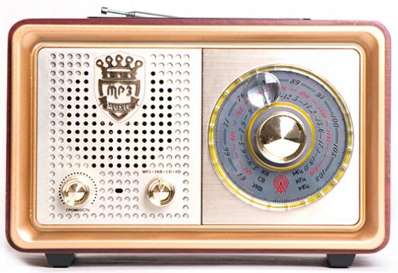 Радиоприемник Сигнал БЗРП РП-324 коричневый цена и фото