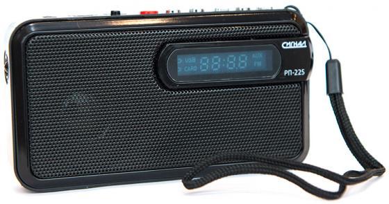 Радиоприемник Сигнал РП-225 черный цена
