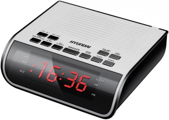 Радиобудильник Hyundai H-RCL100 белый hyundai it a7 планшет