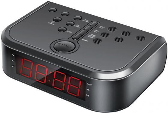 Радиобудильник Hyundai H-RCL120 чёрный