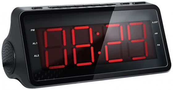 Радиобудильник Hyundai H-RCL140 чёрный hyundai it a7 планшет