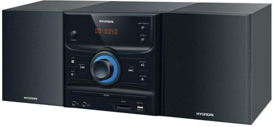 Микросистема Hyundai H-MS260 30Вт черный/серебристый микросистема pioneer x cm66d b 30вт черный