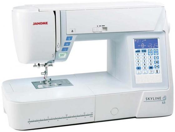 Швейная машинка Janome Skyline S3 белый машинка швейная janome 2141