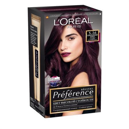 LOREAL PREFERENCE Краска для волос тон 5.26 Изысканный бордо