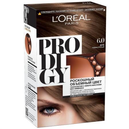 LOREAL PRODIGY Краска для волос тон 6.0 дуб