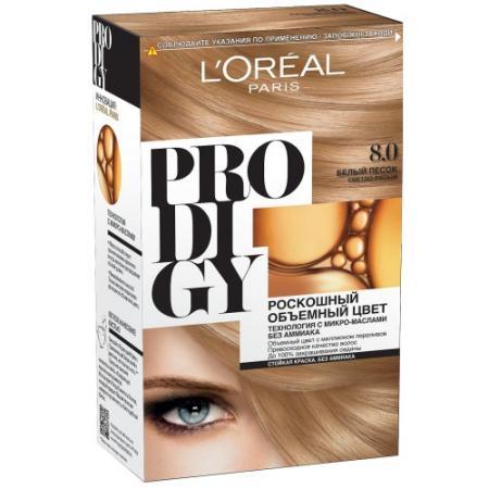 LOREAL PRODIGY Краска для волос тон 8.0 белый песок