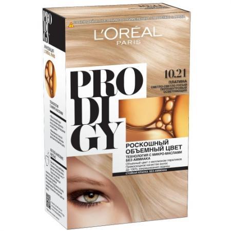 LOREAL PRODIGY Краска для волос тон 10.21 платина