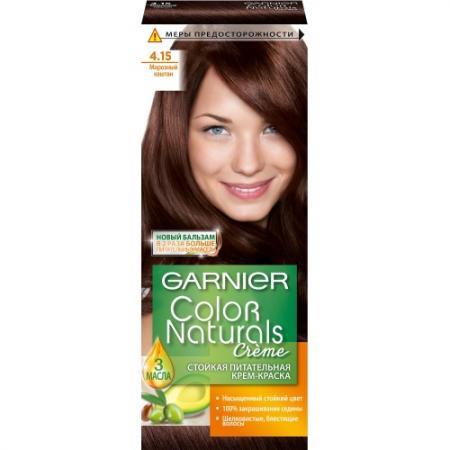 GARNIER Краска для волос COLOR NATURALS 4.15 Морозный каштан
