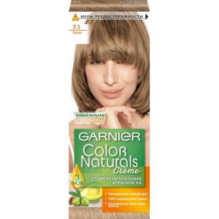 GARNIER Краска для волос COLOR NATURALS 7.1 Ольха мф герда 34 крем ольха