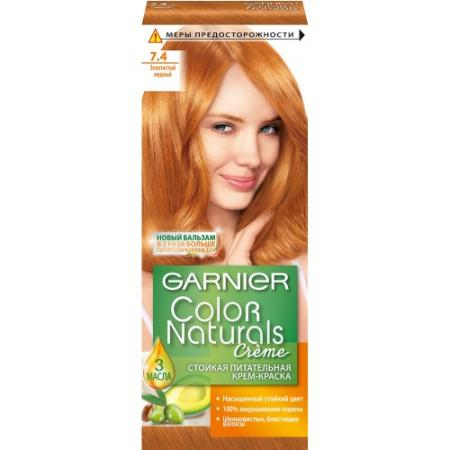 GARNIER Краска для волос Color Naturals 7.4 Золотисто-медный постельное белье tango постельное белье jessye 2 сп евро