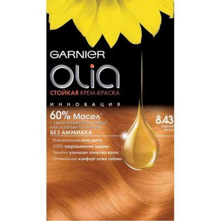 GARNIER Краска для волос Olia 8.43 Медный блонд garnier