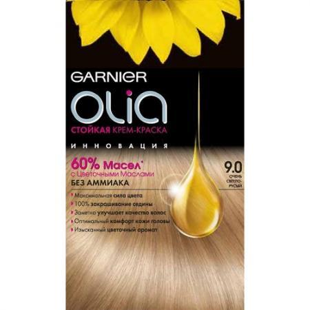 GARNIER Краска для волос OLIA 9.0 Очень светло-русый краска для волос garnier garnier ga002lwivr96