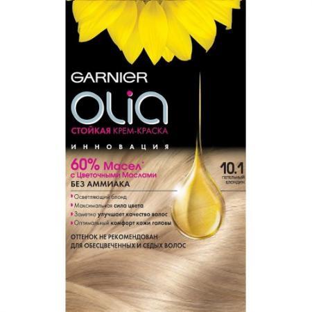 GARNIER Краска для волос OLIA 10.1 Пепельный блондин краска для волос garnier olia 6 46 пылающий медный