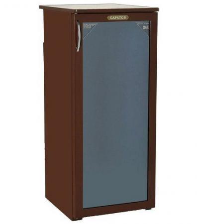 лучшая цена Холодильник Саратов 501-01 коричневый