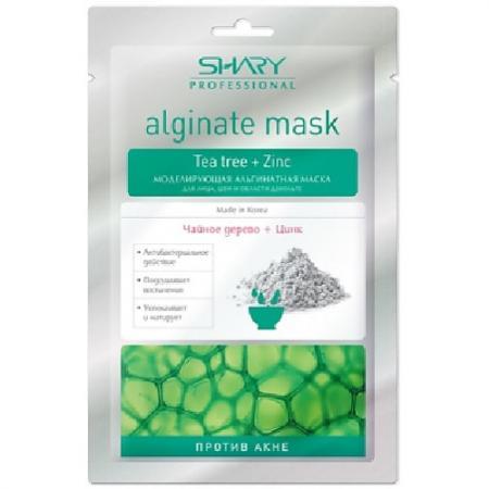 SHARY Маска моделирующая альгинатная для лица, шеи, декольте Против Акне Чайное дерево альгинатные маски для лица белита