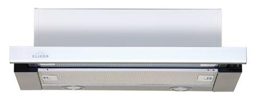Вытяжка встраиваемая Elikor Интегра Glass 50Н-400-В2Д нержавеющая сталь/стекло белое встраиваемая вытяжка elikor интегра 60 крем крем