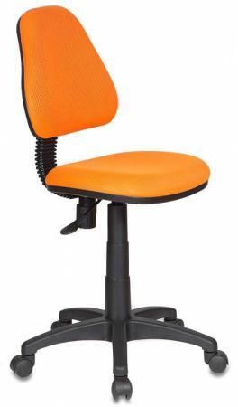 Кресло детское Бюрократ KD-4/TW-96-1 оранжевый кресло детское бюрократ kd 8 на колесиках оранжевый [kd 8 tw 96 1]