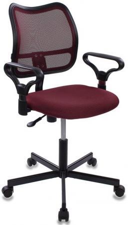 Кресло Бюрократ CH-799M/CH/TW-13N бордовый кресло бюрократ ch 599axsn на колесиках ткань темно бордовый [ch 599 dc tw 13n]