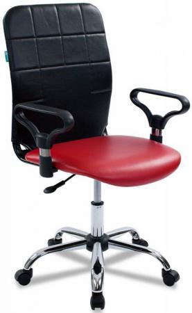 Кресло Бюрократ CH-596/NE-13 спинка черный сиденье красный NE-13 13 znamenitostei kotorye ne meniaut imidj desiatiletiiami