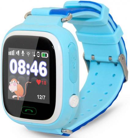 """Смарт-часы Ginzzu GZ-505 1.22"""" IPS синий (00-00000978) цена и фото"""