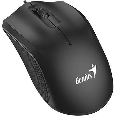 лучшая цена Мышь проводная Genius DX-170 чёрный USB 31010238100