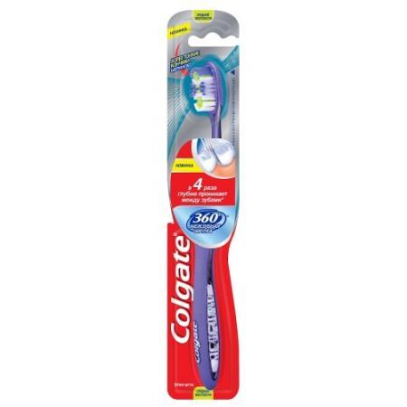 КОЛГЕЙТ Зубная щетка 360 Межзубная чистка средняя