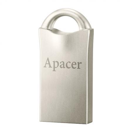 Флешка USB 8Gb Apacer Flash Drive AH117 AP8GAH117S-1 серебристый usb flash drive