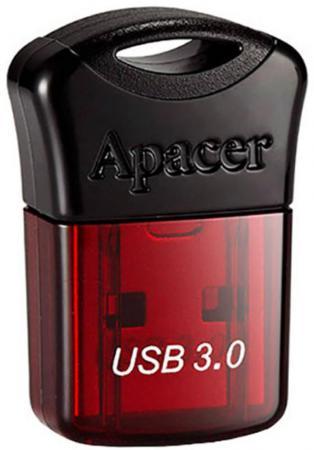 Флешка USB 32Gb Apacer Flash Drive AH157 AP32GAH157R-1 красный флешка usb 64gb apacer ah157 ap64gah157u 1 синий