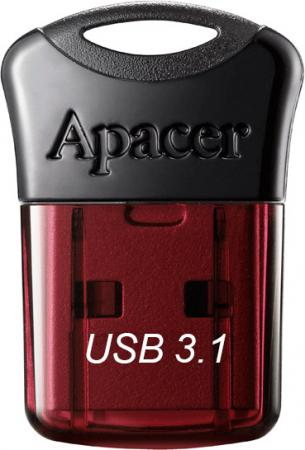 цена Флешка USB 64Gb Apacer Flash Drive AH157 AP64GAH157R-1 красный