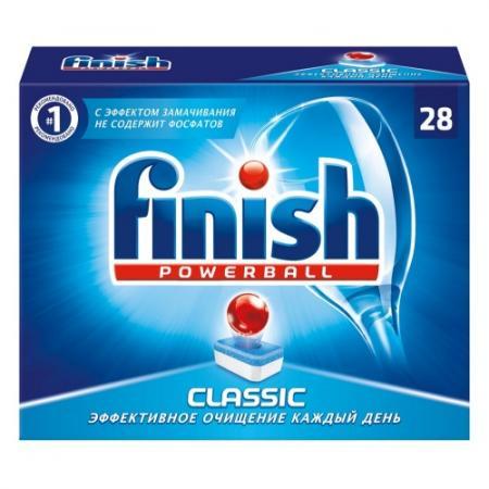 Таблетки для посудомоечной машины Finish Classic 28шт 3052725