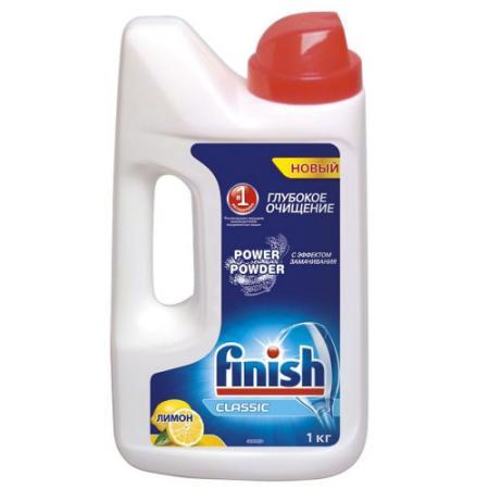 Средство для мытья посуды Finish Лимон 1кг 3017257 finish classic средство для мытья посуды в посудомоечных машинах в таблетках 28 шт