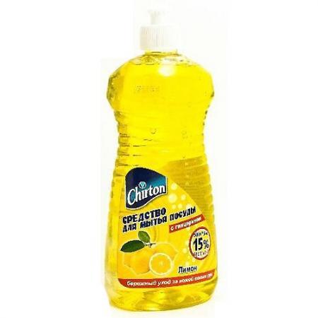 где купить CHIRTON Средство для мытья посуды Лимон 500мл 75мл дешево