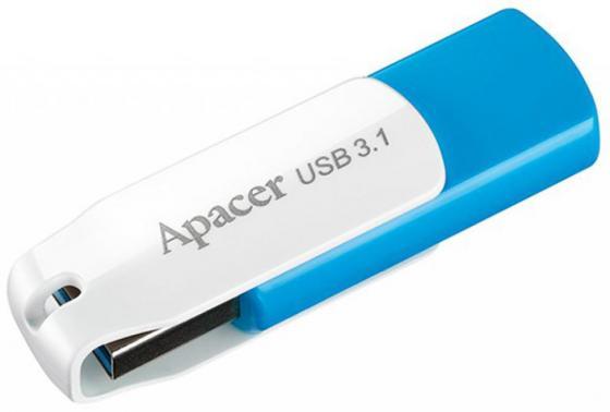 Флешка USB 16Gb Apacer Flash Drive AH357 AP16GAH357U-1 синий usb flash drive 16gb smartbuy x cut sky sb16gbxc sb