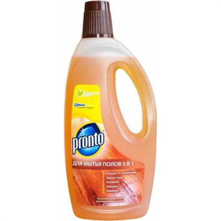 РRONTO Моющее средство для мытья полов 5в1 750мл средство для мытья полов pronto 5 в 1 750 мл